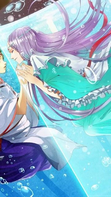 Anime Couple Hd Desktop Wallpapers Widescreen High Definition