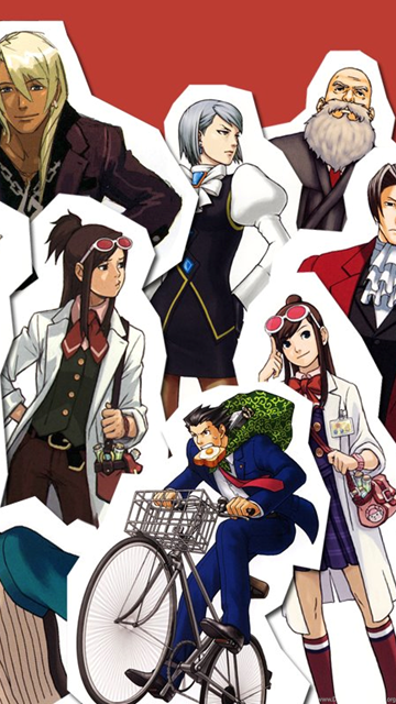 Ace Attorney Wallpaper Desktop Background