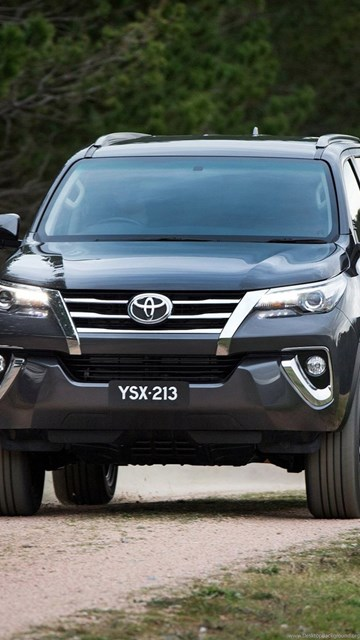 2016 Toyota Fortuner Hd Wallpapers 9 Desktop Background