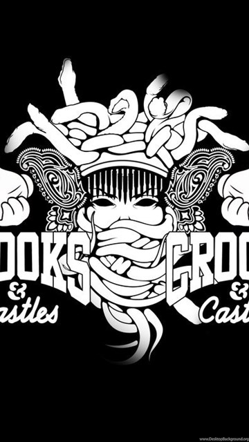 crooks and castles iphone 6 wallpapers desktop background