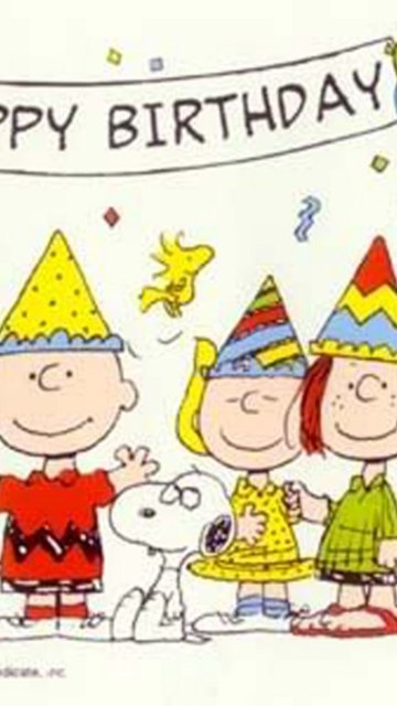 Wallpapers Happy Birthday Peanuts Gang The Free Source