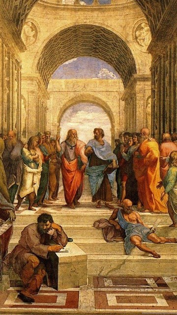 Renaissance The School Of Athens Classic Art Paitings Raphael