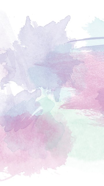 Pink Lavender Mint Watercolour Brushstrokes Desktop