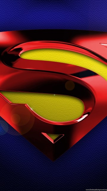 awesome superman logo 3d wallpapers desktop background