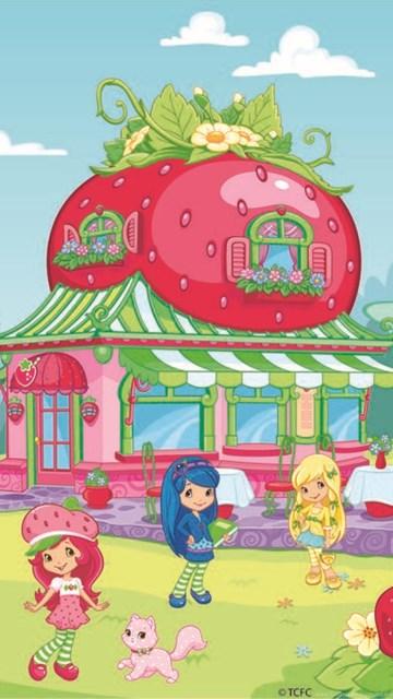 strawberry shortcake wallpaper for tablet images