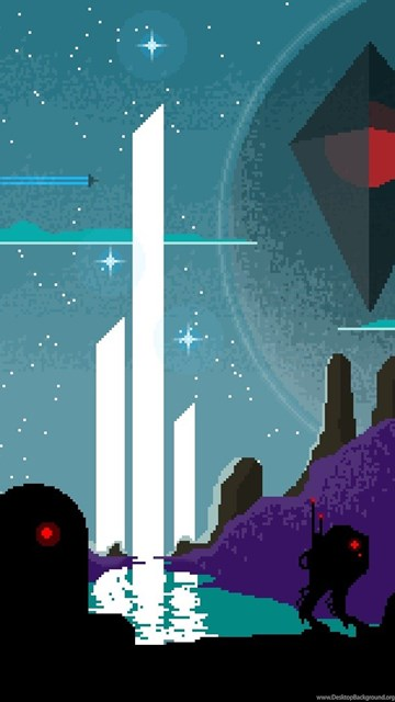 No Man S Sky Video Games Pixel Art Fan Art Wallpapers For