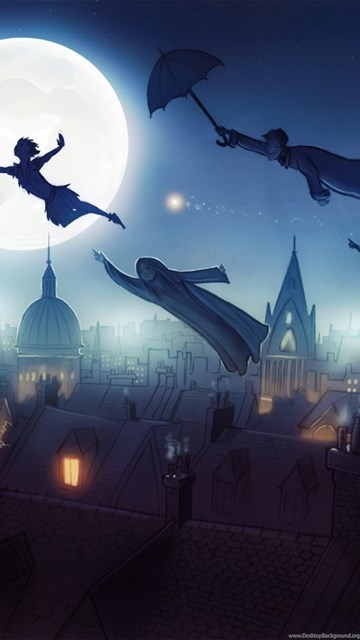 Peter Pan Wallpapers Neverland Desktop Background
