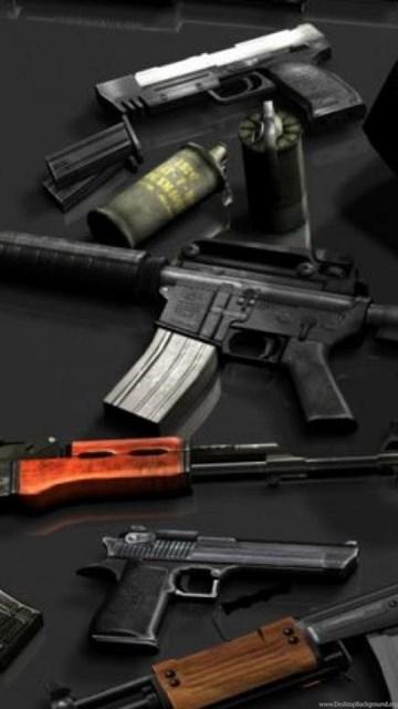Ak 47 Counter Terrorism Desert Eagle M16 Magnum Wallpapers