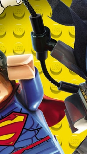 Lego Superman And Batman Hd Desktop Wallpapers High Definition