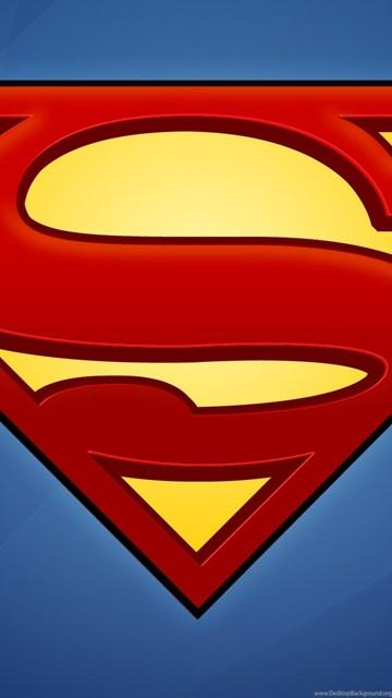 Superman Logo Iphone 5 Wallpapers Desktop Background