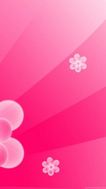 simple abstract pink flower backgrounds for powerpoint