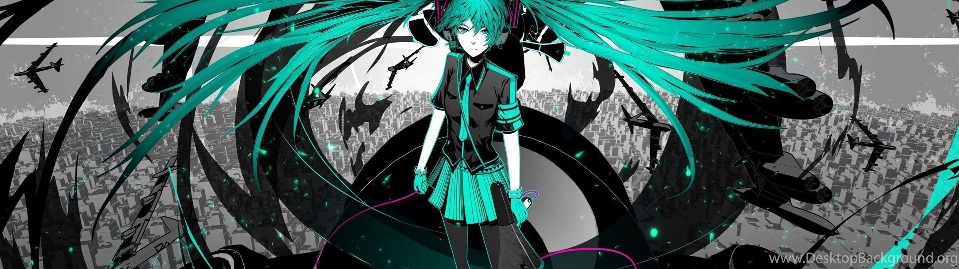 Hatsune Miku Vocaloid Wallpaper Jpg Desktop Background