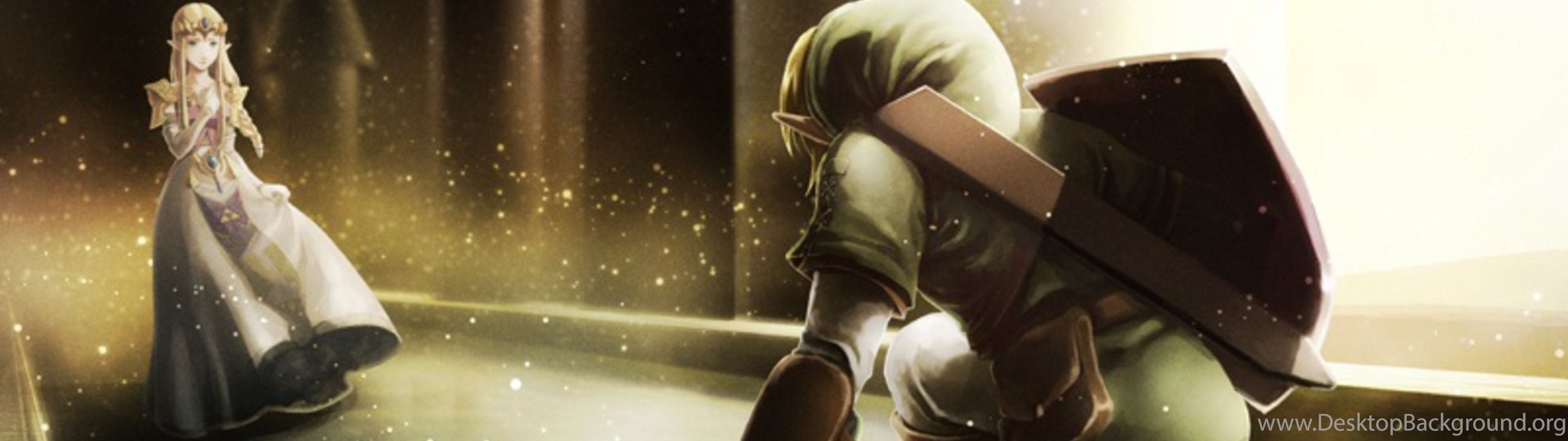 Download Wallpapers 3840x1200 The Legend Of Zelda Character Elf