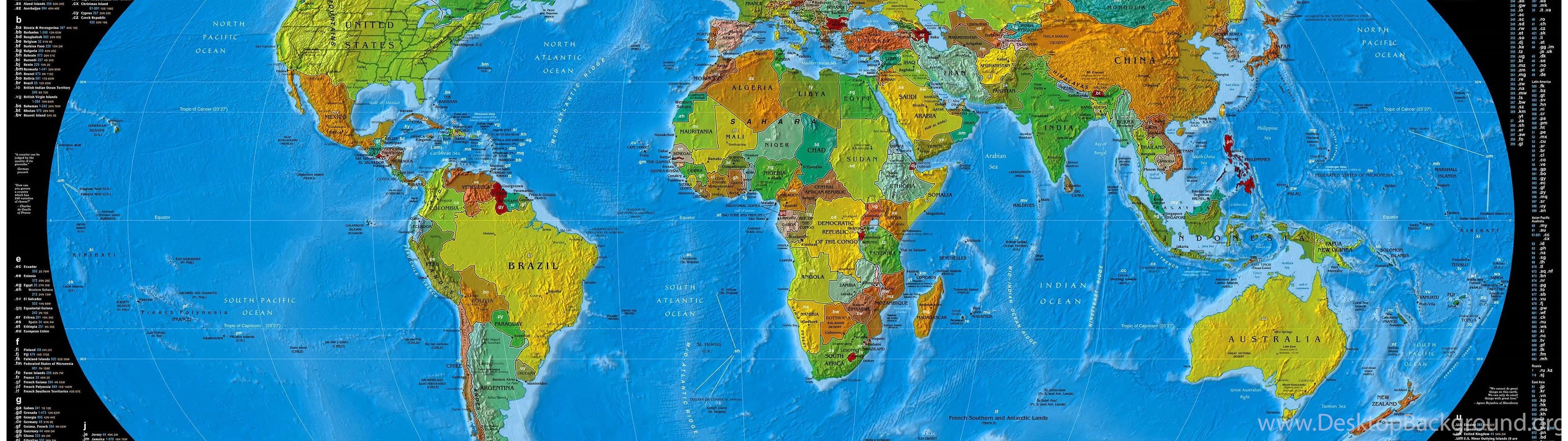 World map wallpapers desktop background widescreen gumiabroncs Choice Image