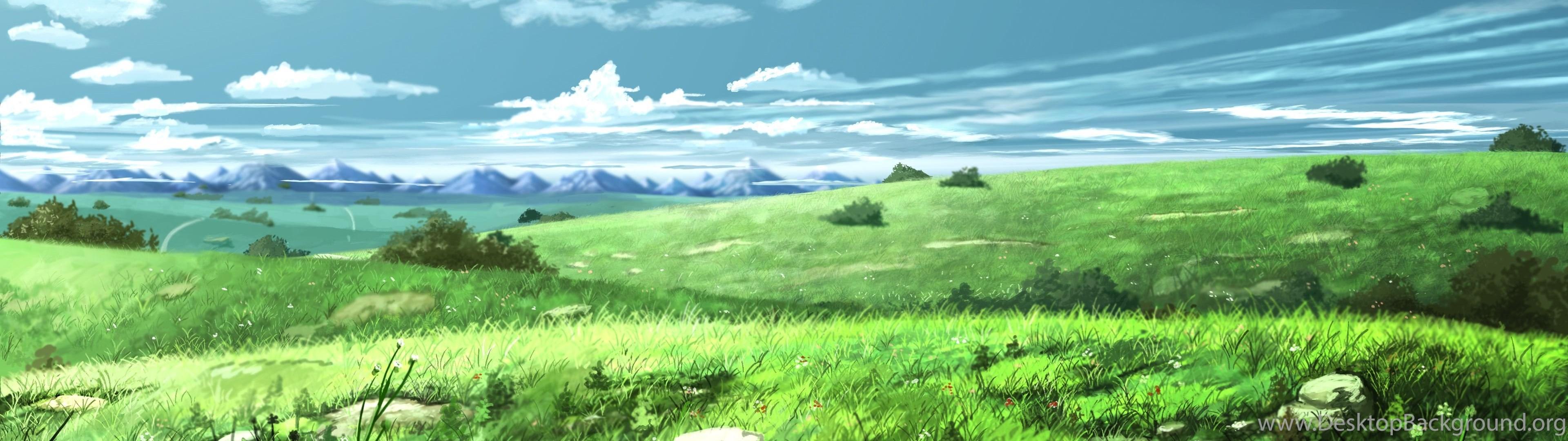 anime landscape wallpapers desktop background