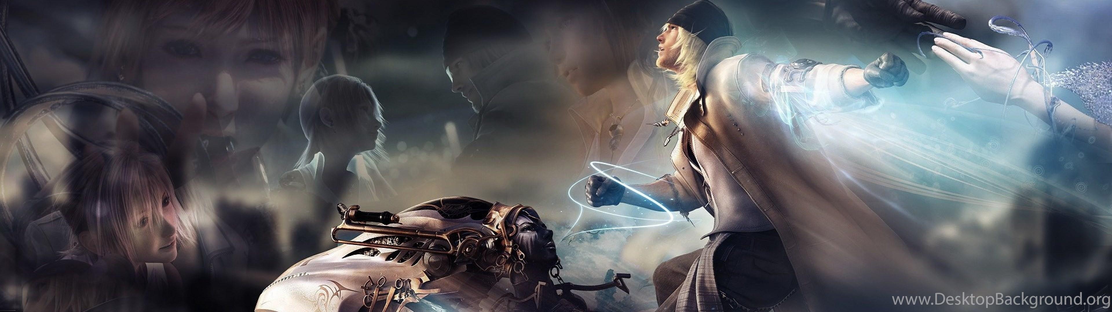 Dual Wide Final Fantasy Xiii Wallpapers Hd Desktop Backgrounds