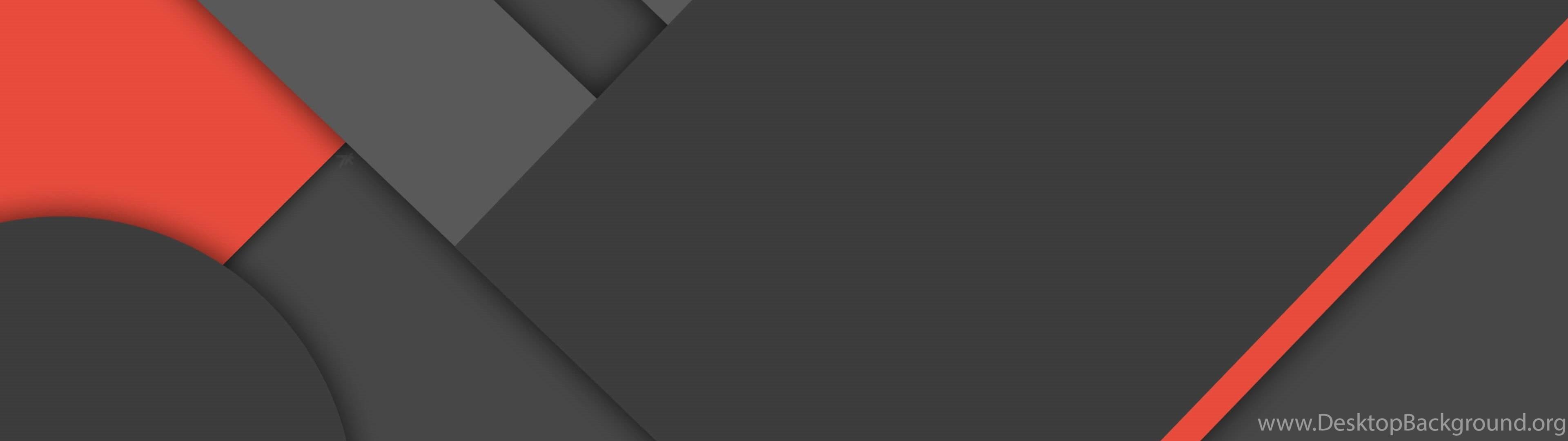 Dark Grey Red Material Design 4k Wallpapers Desktop Background