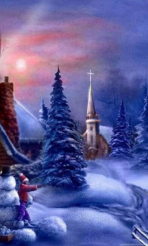 Free Animated Christmas Desktop Wallpapers Desktop Background