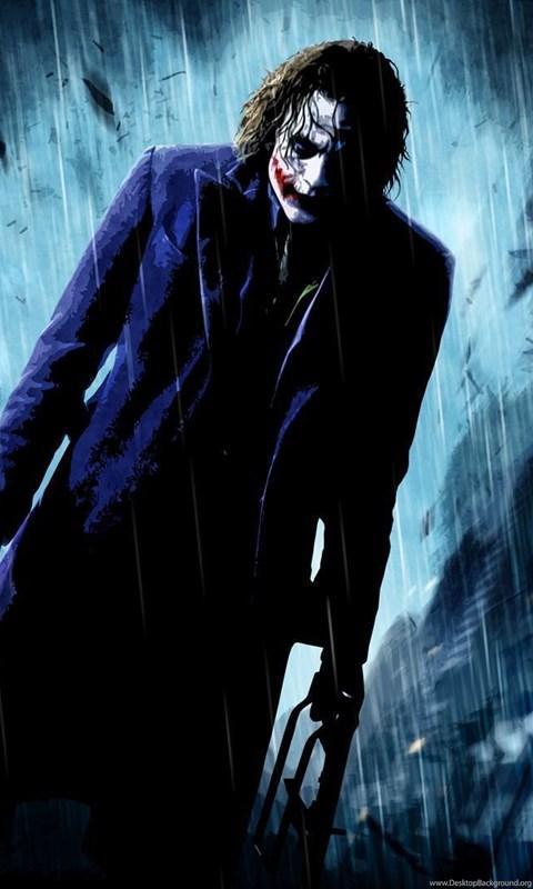 The Dark Knight Joker Wallpapers Wallpaper Desktop Background