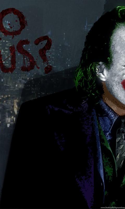 Joker Wallpapers Why So Serious Dark Knight Desktop Background