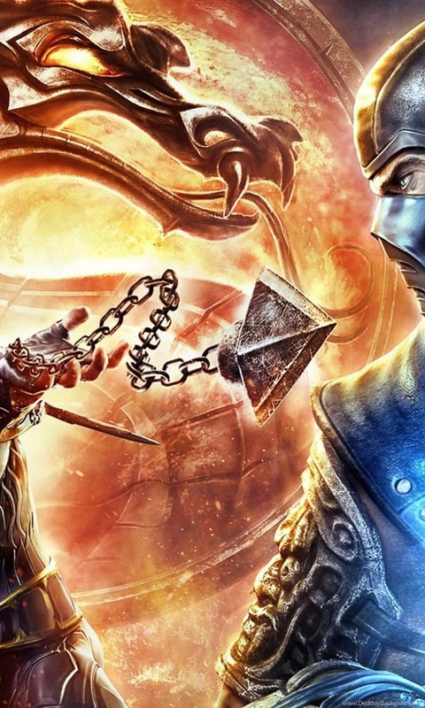 Mortal Kombat Scorpion Vs Sub Zero Wallpaper Desktop Background