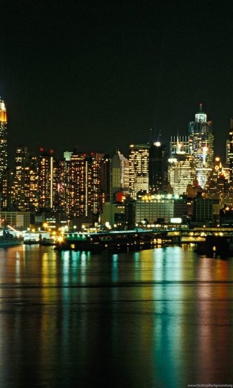 New york city lights wallpaper
