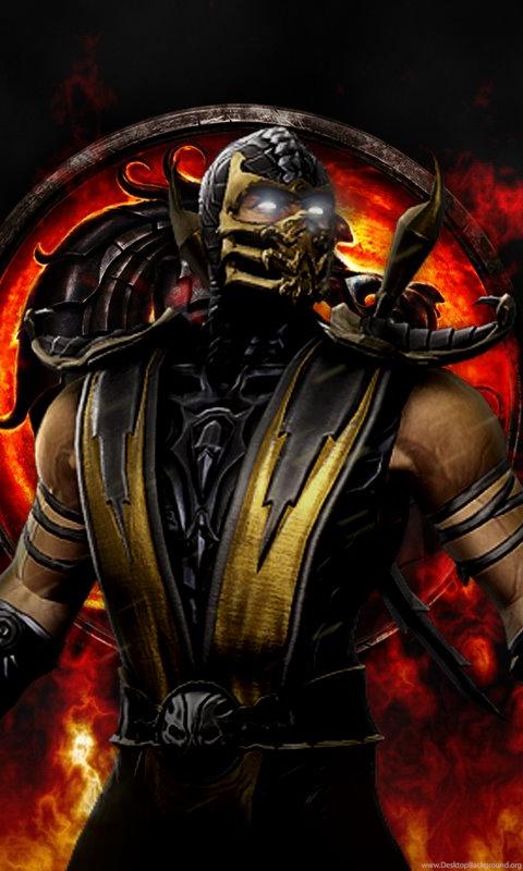 Mortal Kombat Scorpion Wallpapers Desktop Background