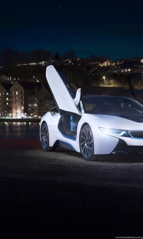 White Bmw I8 Concept Uhd Wallpapers Ultra High Definition