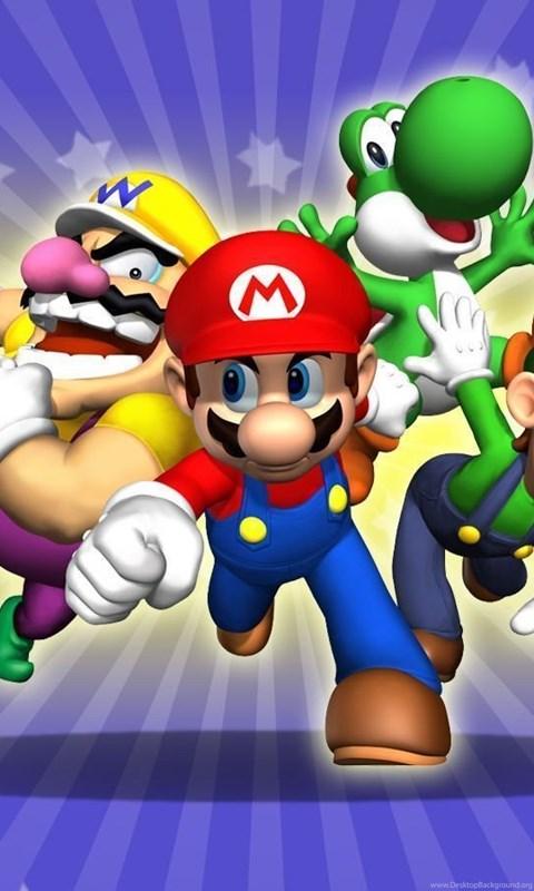 Super Mario Wallpapers Hd Wallpapers Desktop Background