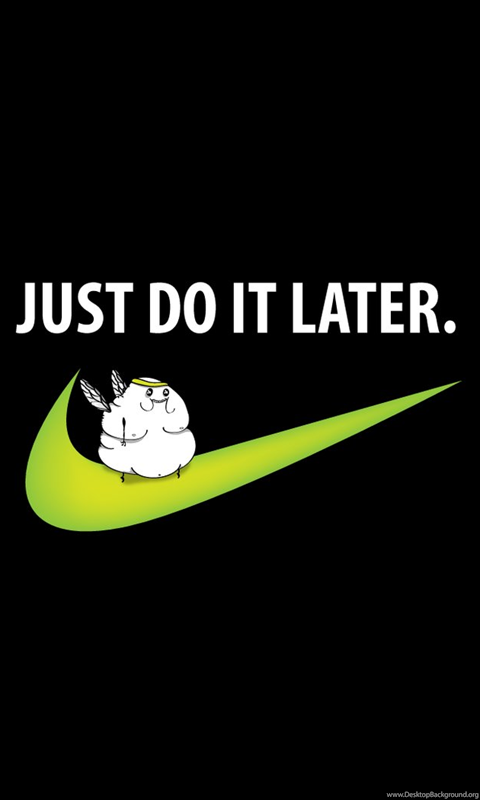 Fat Fairy On The Nike Sign Wallpapers Funny Wallpapers