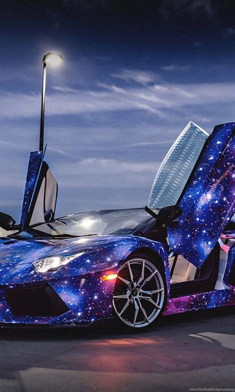 Galaxy Lamborghini Aventador Wallpapers Desktop Background