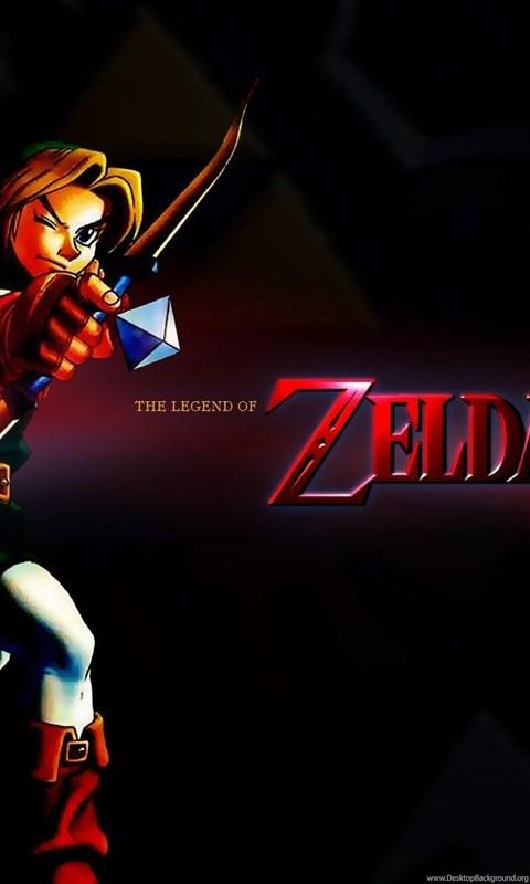 Legend Zelda Wallpapers Desktop Background Android Wallpaper Mobile