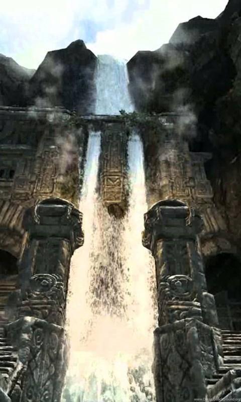 Journey Through Skyrim Live Wallpaper 1080p YouTube Desktop