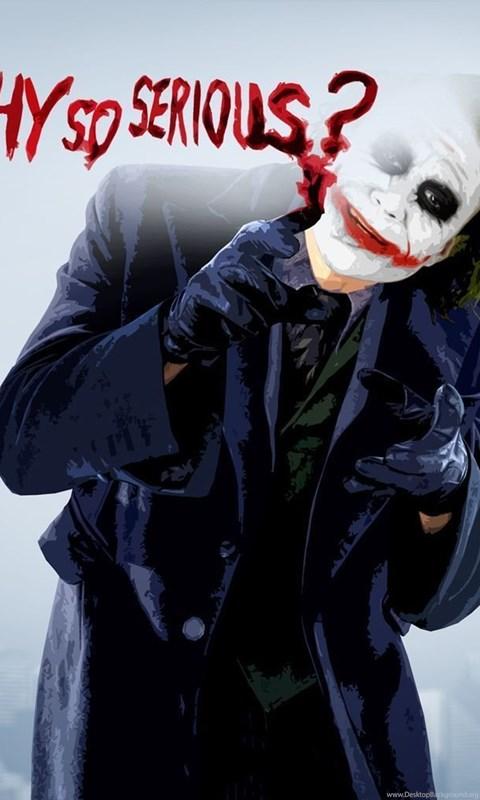 Joker Why So Serious Wallpapers Desktop Background