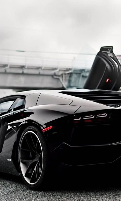 Black Lamborghini Aventador Open Door 1920x1080 Full Hd 16 9