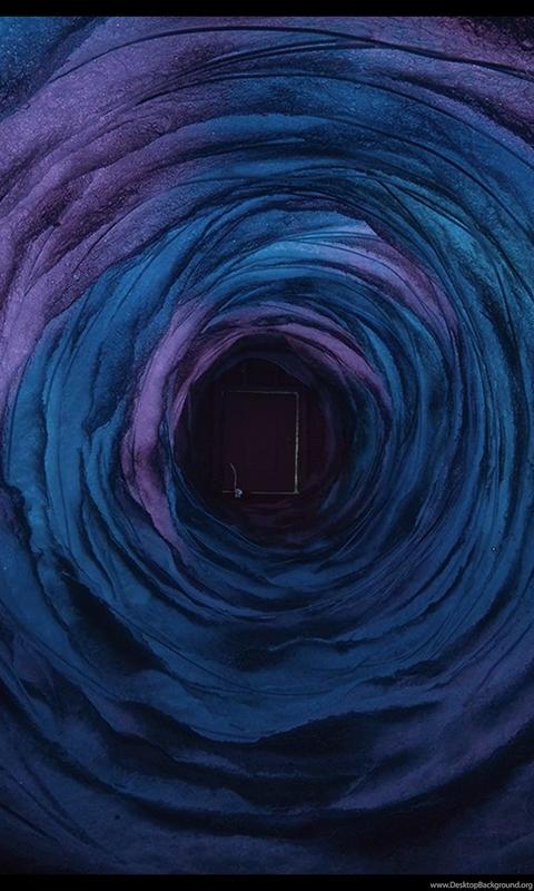 Blue View HD Coraline Wallpaper.png Desktop Background