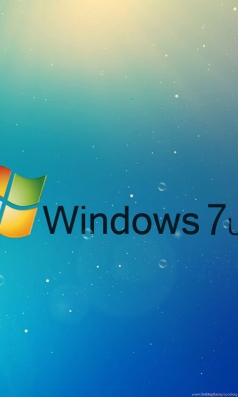 Download Wallpapers 1600x900 Windows 7 Ultimate Blue Drops