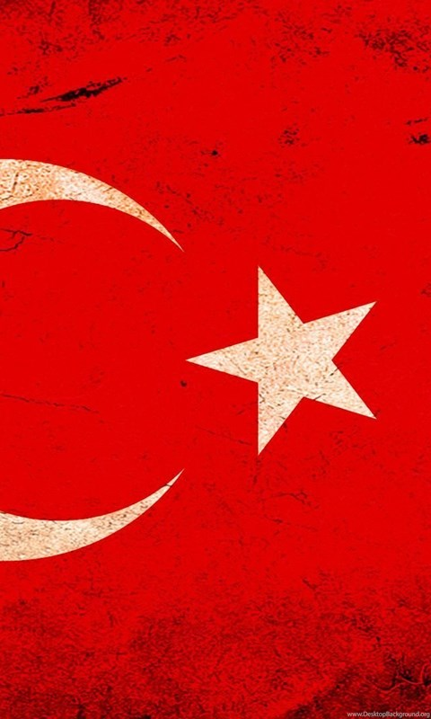 Hd turkey flag wallpapers desktop background hd 480x800 android voltagebd Image collections