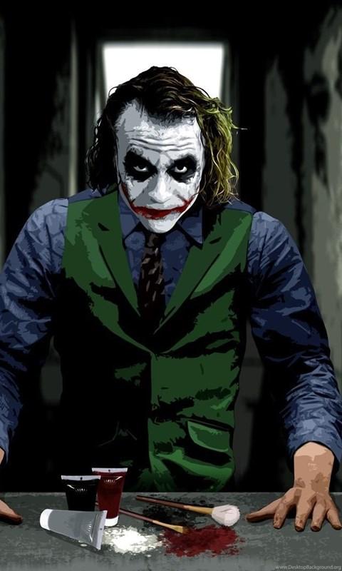 Heath Ledger The Joker Hd Wallpapers Desktop Background