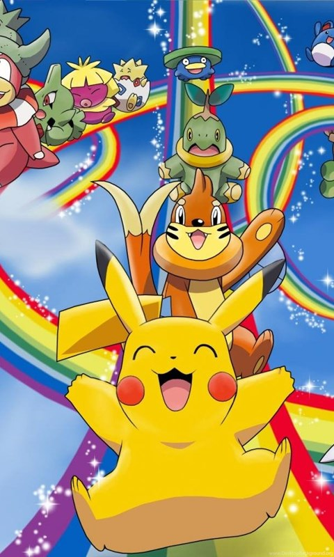 Pokemon Pikachu Hd Wallpapers Desktop Background