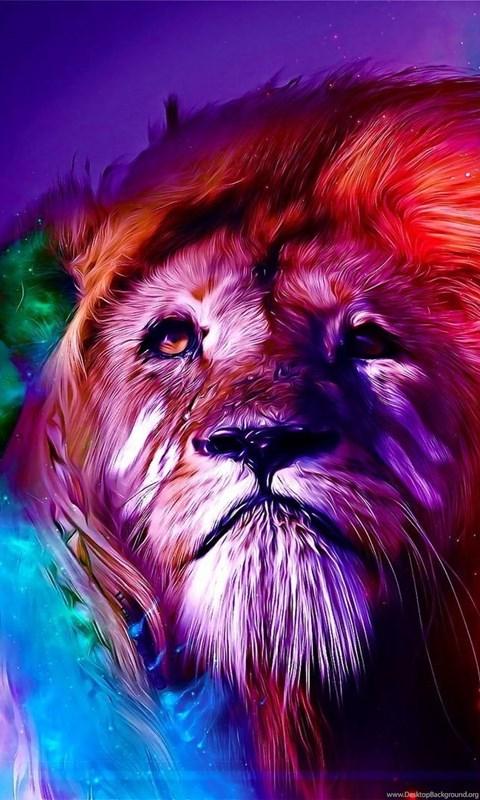 Colorful Lion Wallpapers Grs11 Desktop Background