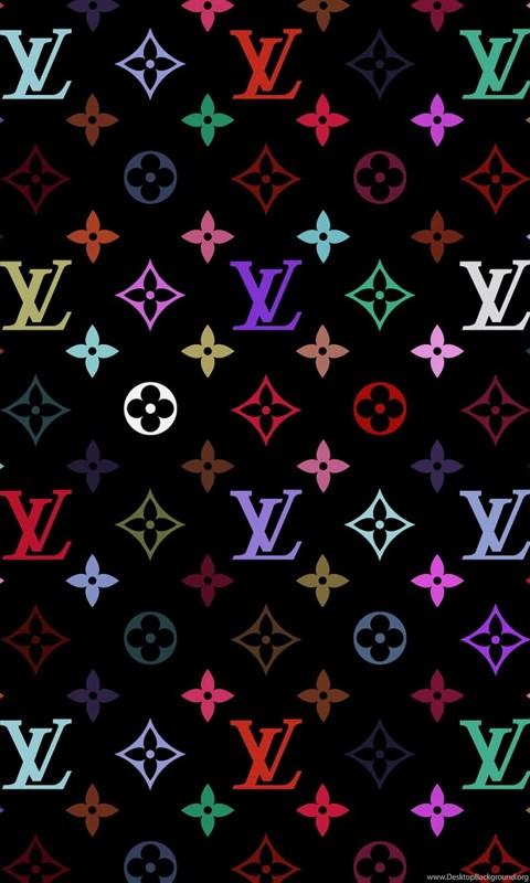 Rainbow Louis Vuitton Wall