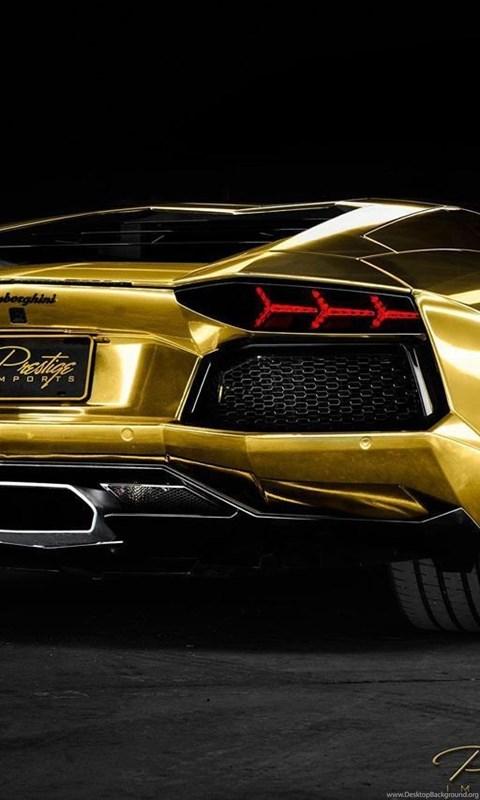 Cool Gold Lamborghini Wallpapers Image Desktop Background