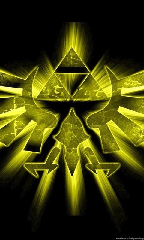Triforce The Legend Of Zelda Wallpapers Desktop Background