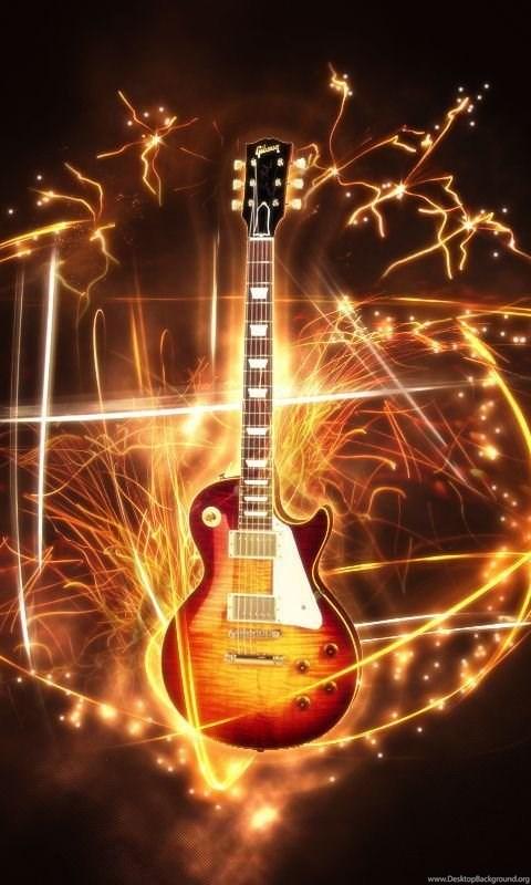 Для, огненная гитара гифка