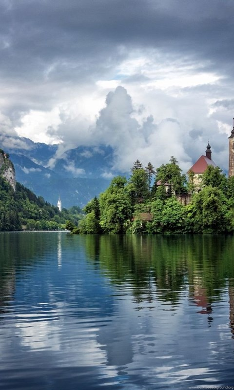 Lake bled slovenia 1920 x 1080 hdtv 1080p wallpapers desktop background - 1080 x 1080 background ...