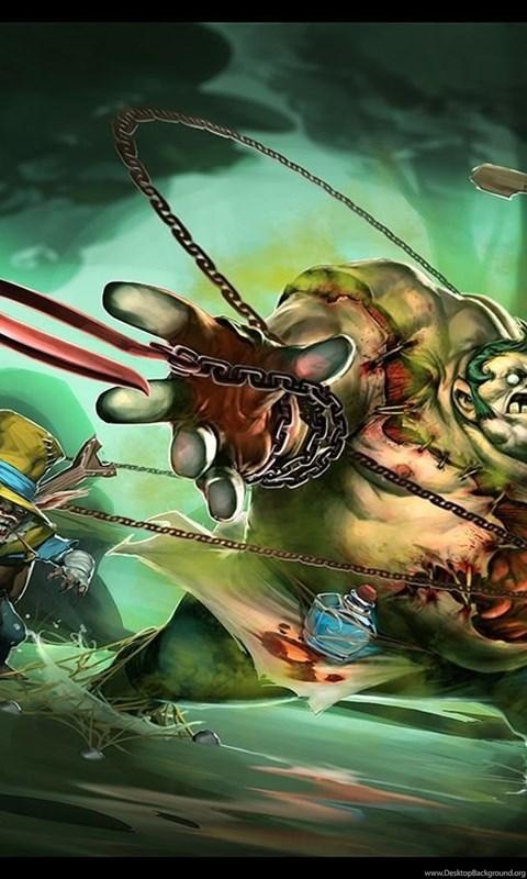 Pudge Vs Meepo Dota 2 Heroes Hd Wallpaper Ningyee7 1440x900 Jpg