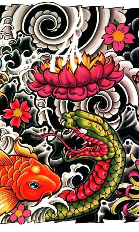 Japanese Tattoo Wallpapers Desktop Background