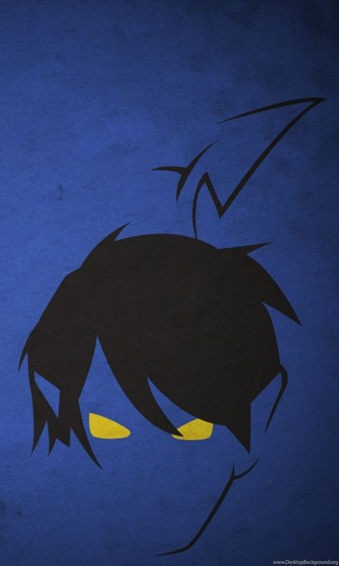 Dark Comic Anime Face Art Drawn Iphone 6 Wallpapers Download