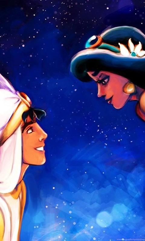 65 Disney Aladdin And Princess Jasmine Coloring Pages